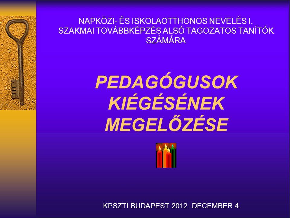 KPSZTI BUDAPEST 2012. DECEMBER 4.