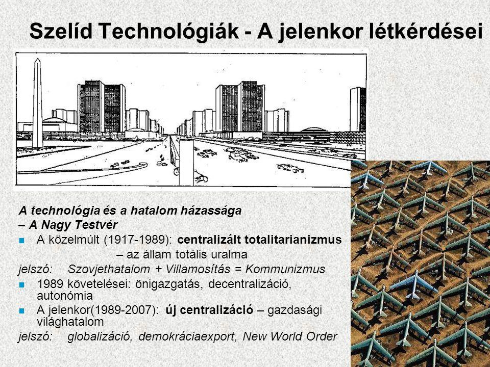 Szelíd Technológiák - A jelenkor létkérdései
