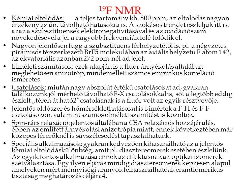 19F NMR