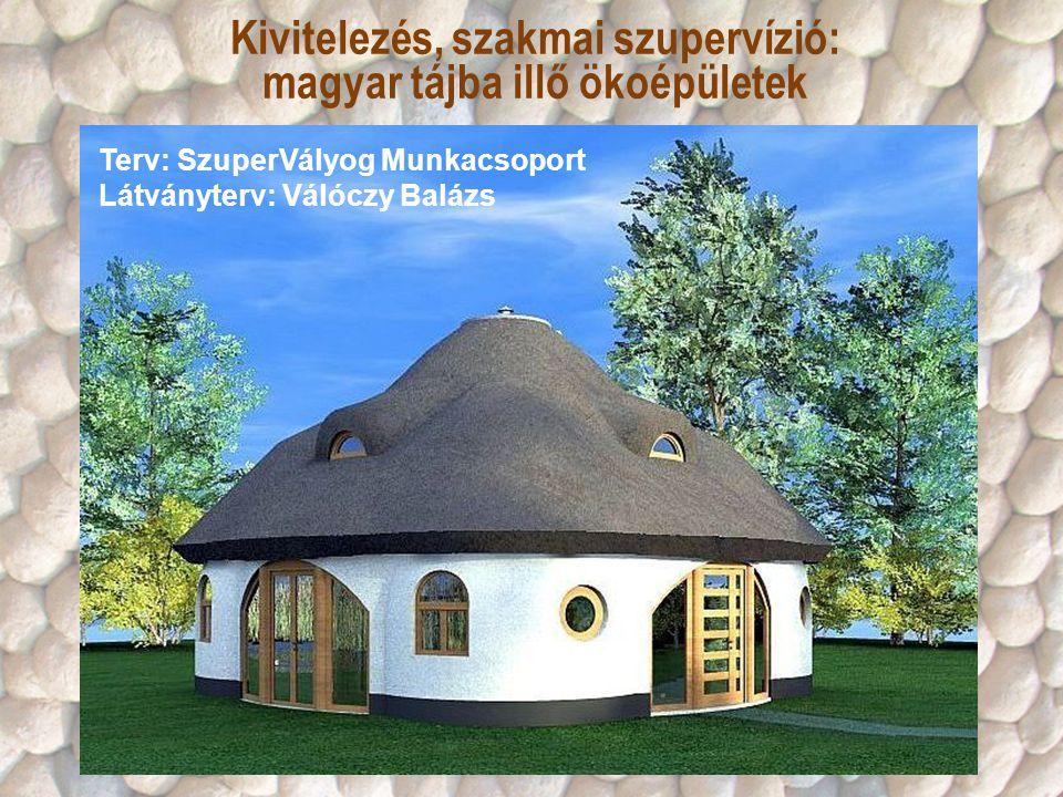 Kivitelezés, szakmai szupervízió: magyar tájba illő ökoépületek