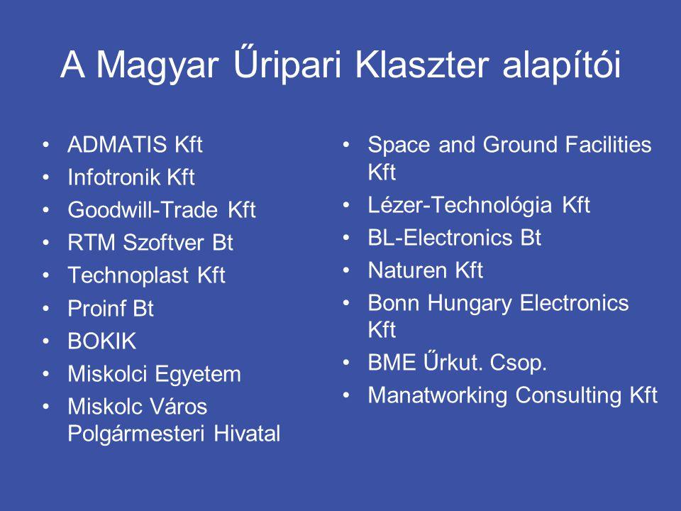 A Magyar Űripari Klaszter alapítói