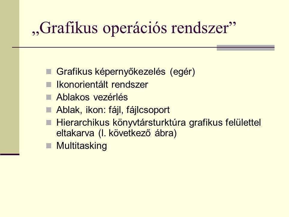 """""""Grafikus operációs rendszer"""