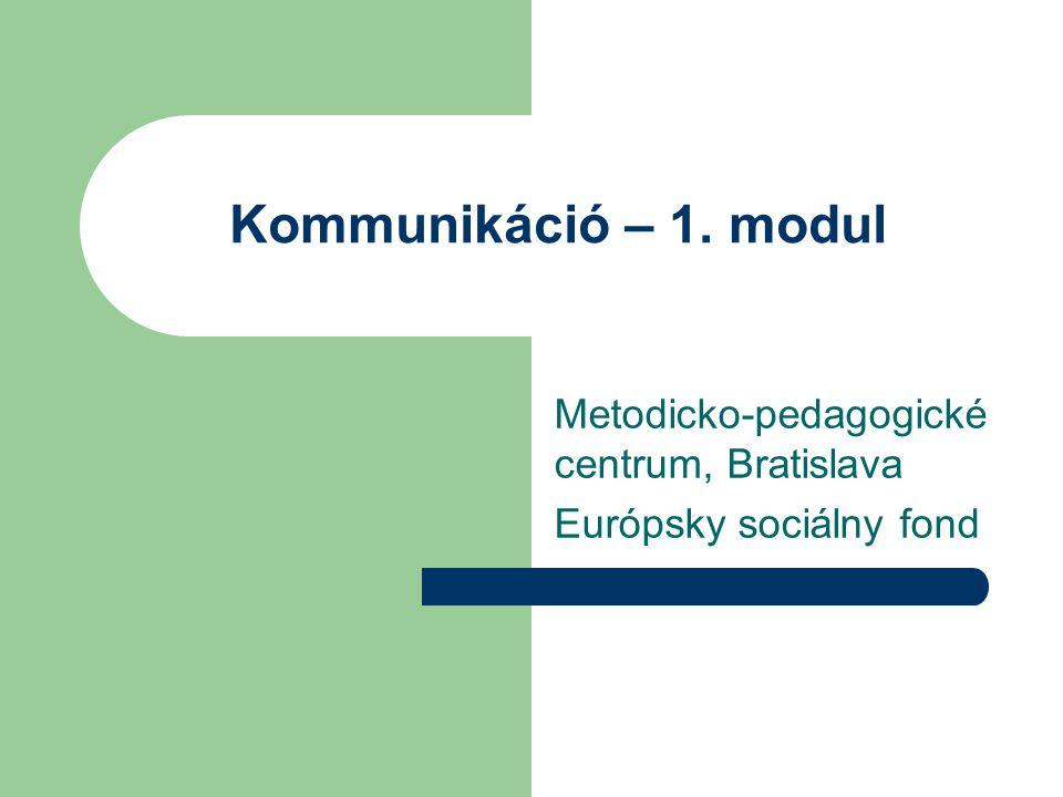 Metodicko-pedagogické centrum, Bratislava Európsky sociálny fond