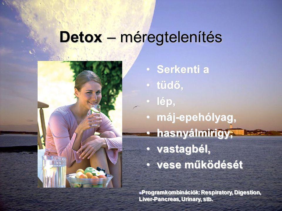 Detox – méregtelenítés