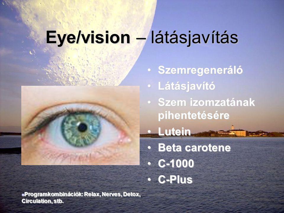 Eye/vision – látásjavítás