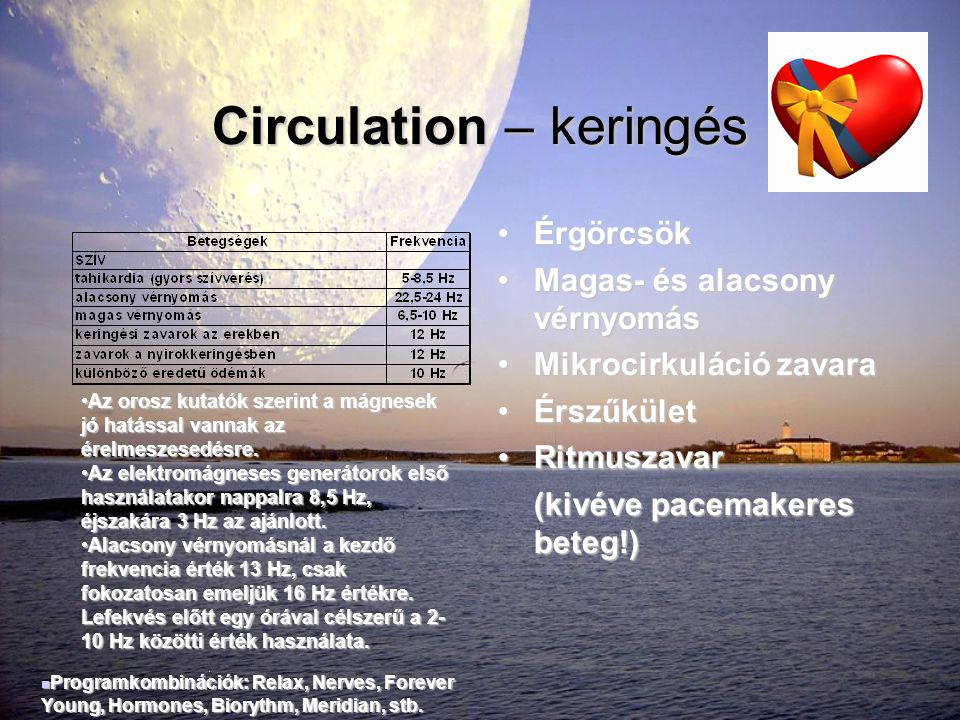 Circulation – keringés