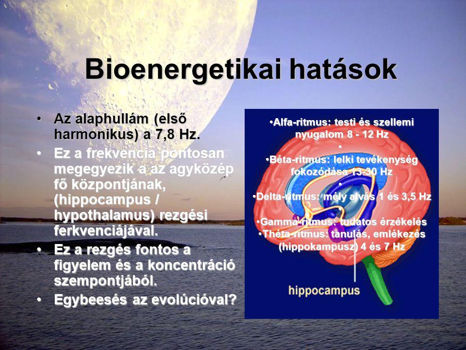 Bioenergetikai hatások