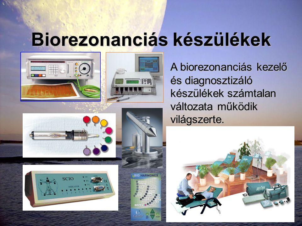 Biorezonanciás készülékek
