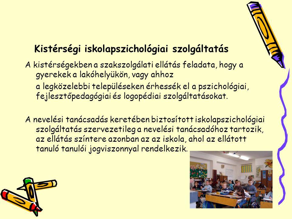 Kistérségi iskolapszichológiai szolgáltatás