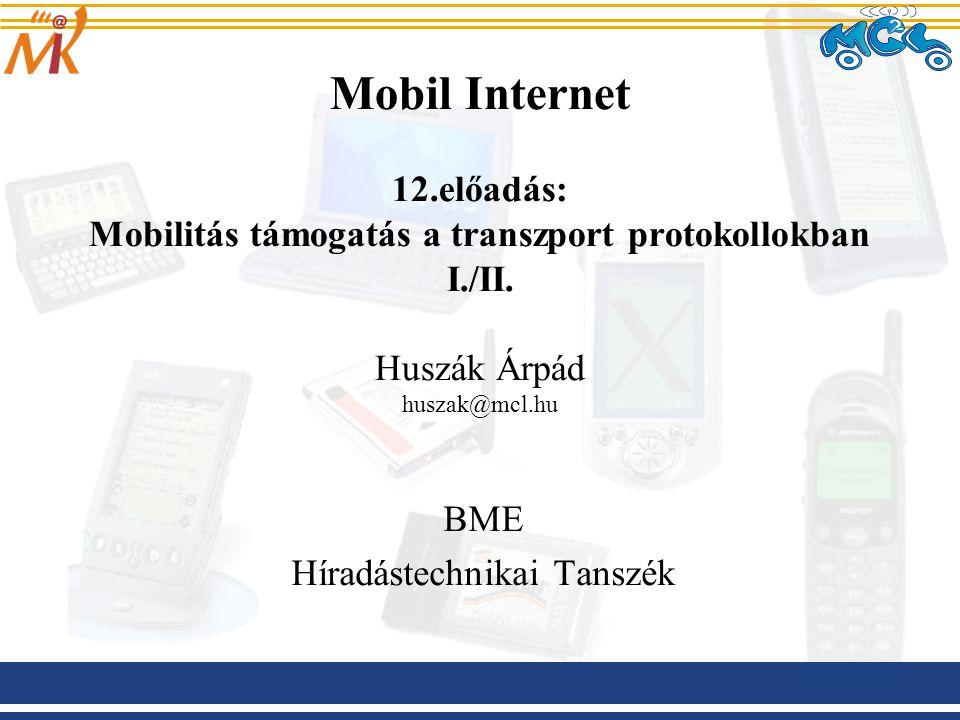BME Híradástechnikai Tanszék