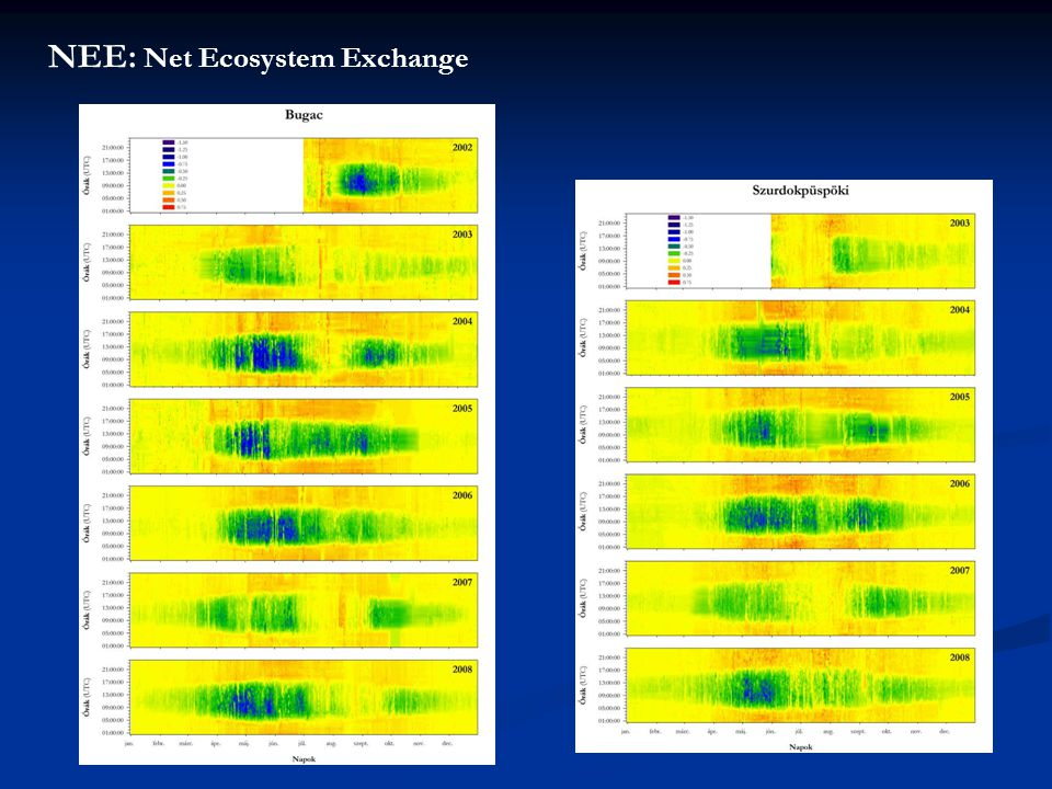 NEE: Net Ecosystem Exchange
