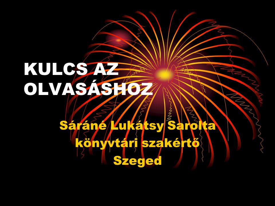 Sáráné Lukátsy Sarolta könyvtári szakértő Szeged