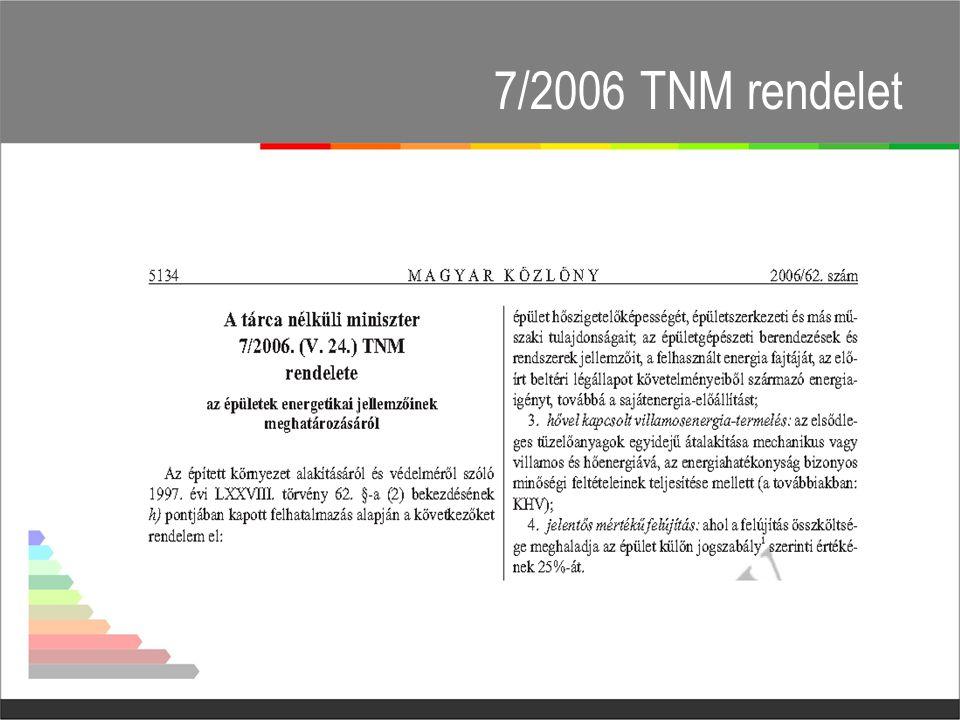 7/2006 TNM rendelet