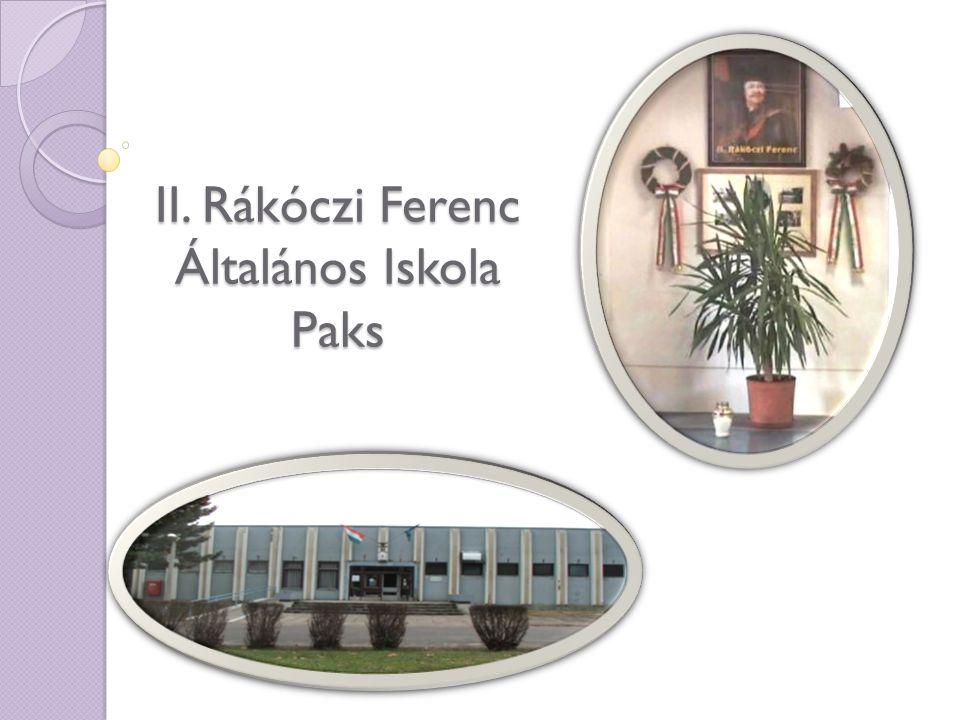 II. Rákóczi Ferenc Általános Iskola Paks