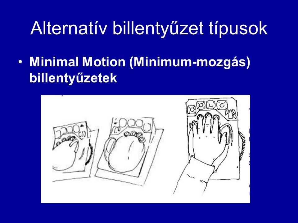 Alternatív billentyűzet típusok