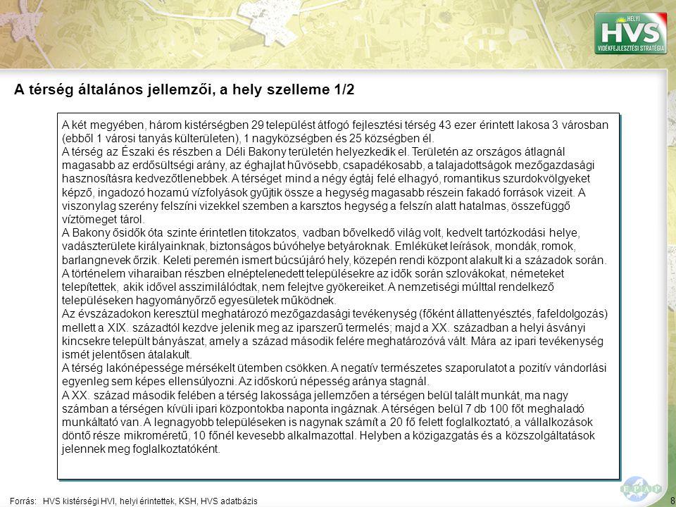 A térség általános jellemzői, a hely szelleme 2/2
