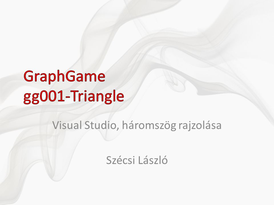 GraphGame gg001-Triangle