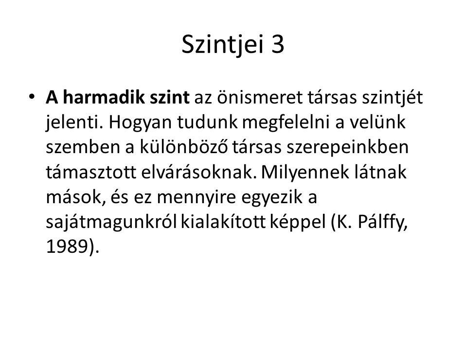 Szintjei 3