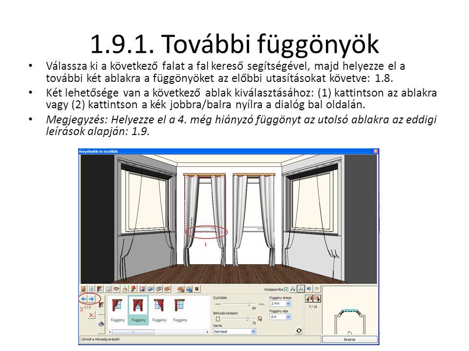 1.9.1. További függönyök