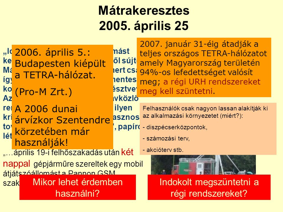 Mátrakeresztes 2005. április 25
