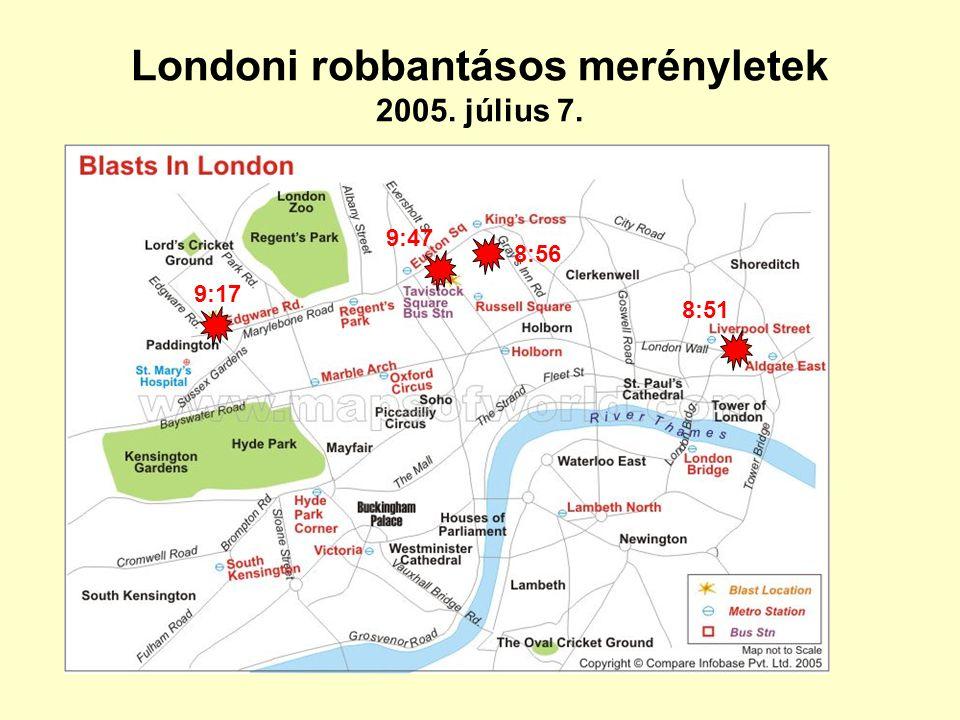 Londoni robbantásos merényletek 2005. július 7.