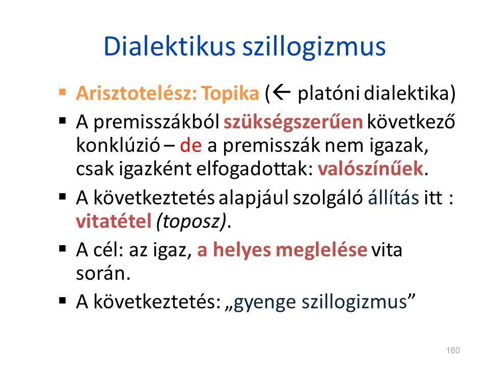 Dialektikus szillogizmus