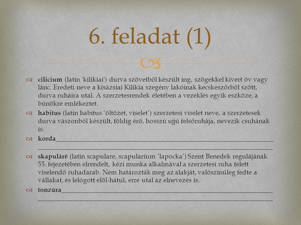 6. feladat (1)