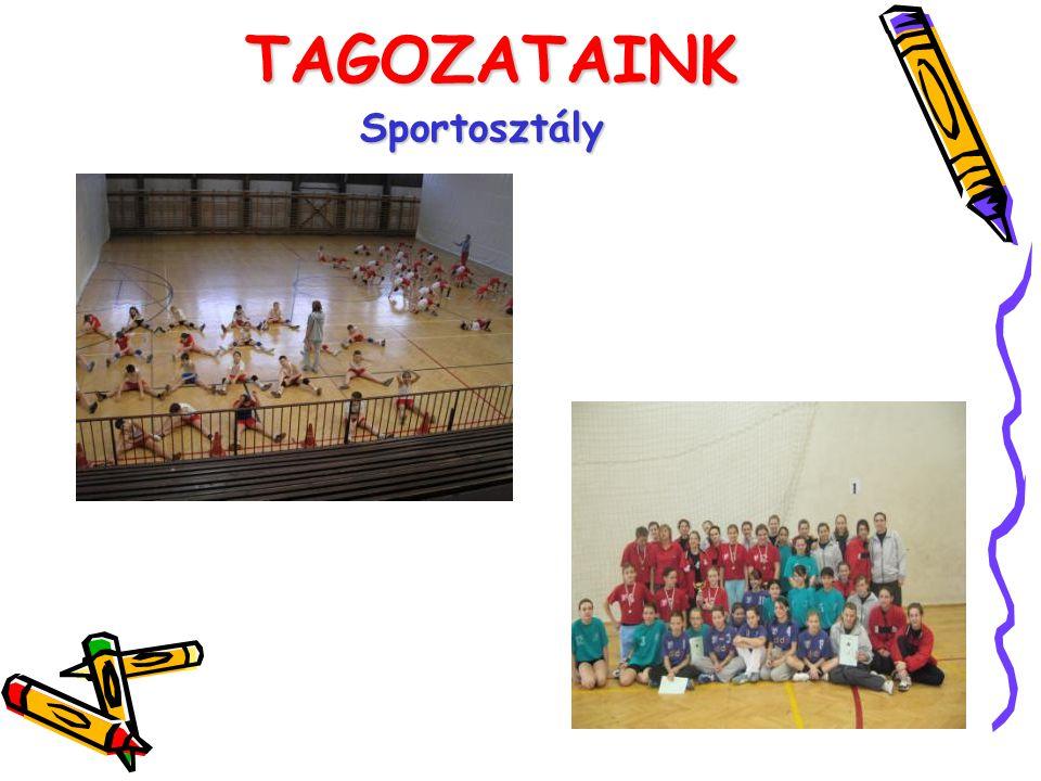 TAGOZATAINK Sportosztály