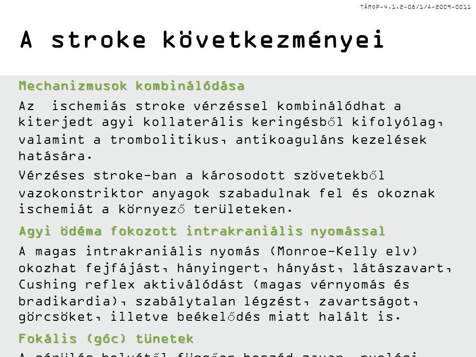 A stroke következményei