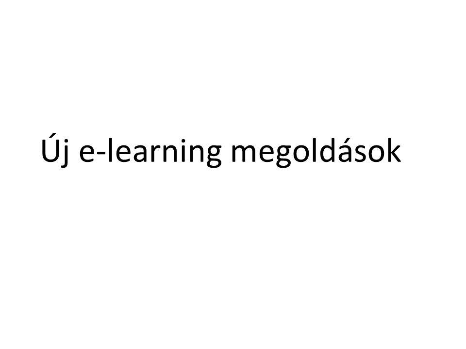 Új e-learning megoldások