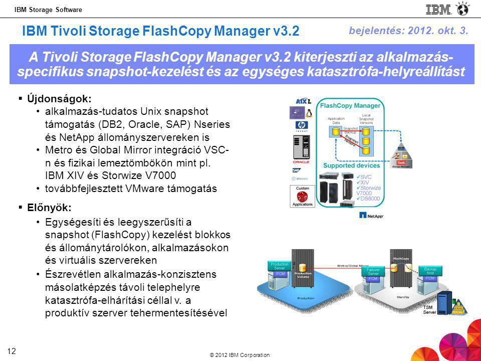 IBM Tivoli Storage FlashCopy Manager v3.2
