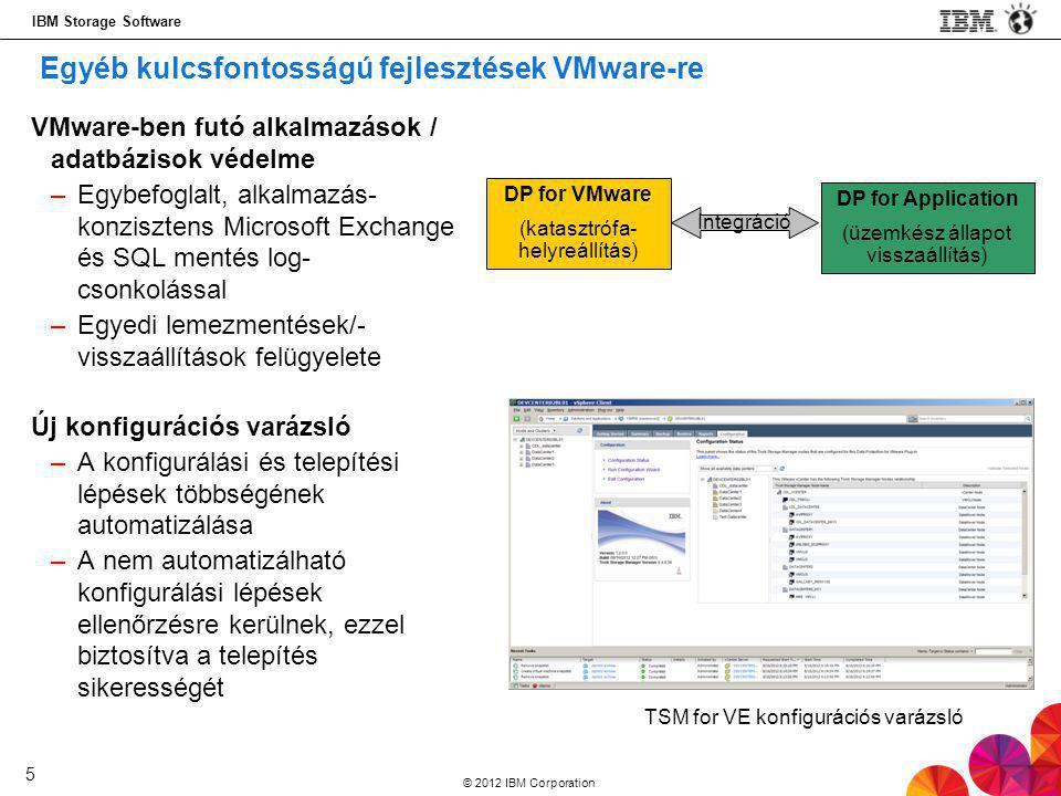 Egyéb kulcsfontosságú fejlesztések VMware-re