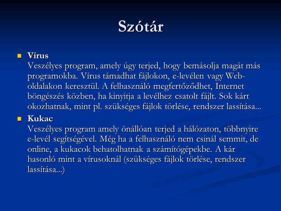 Szótár