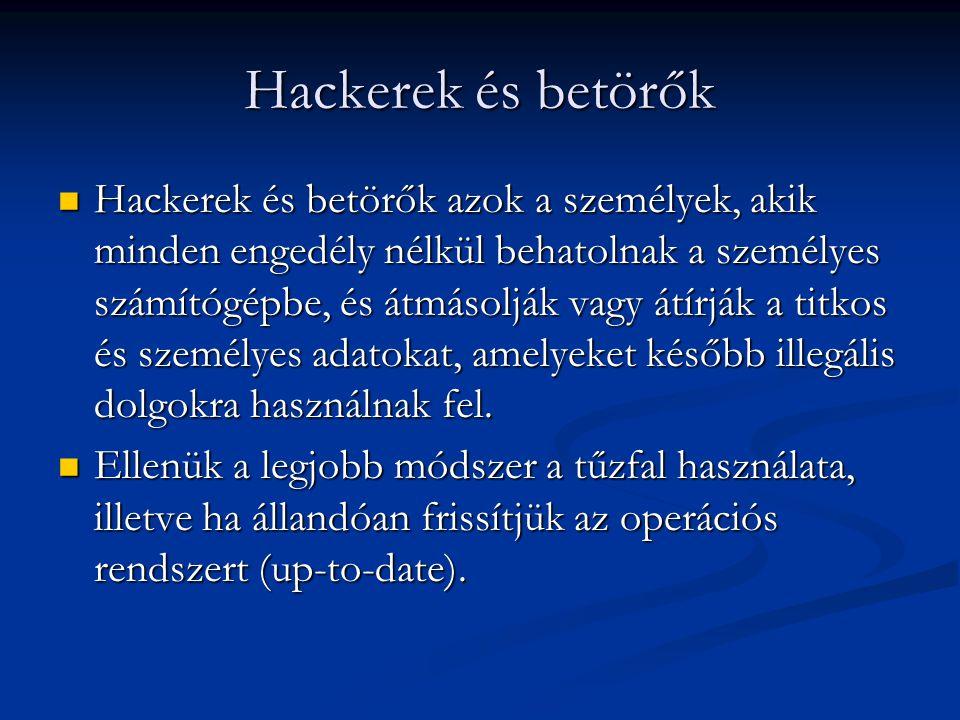 Hackerek és betörők