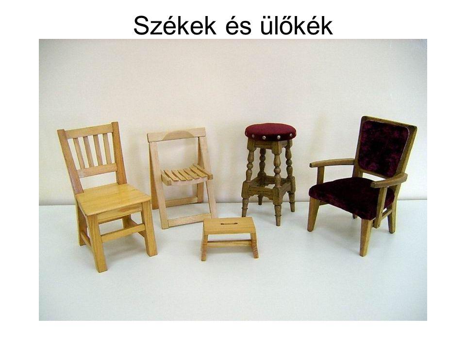 Székek és ülőkék
