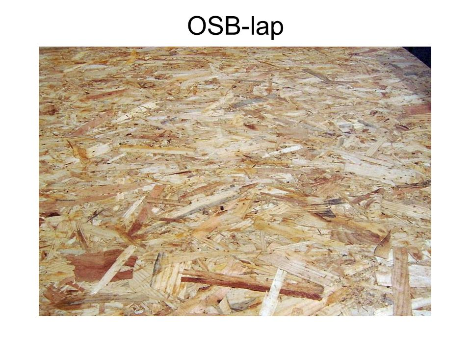 OSB-lap