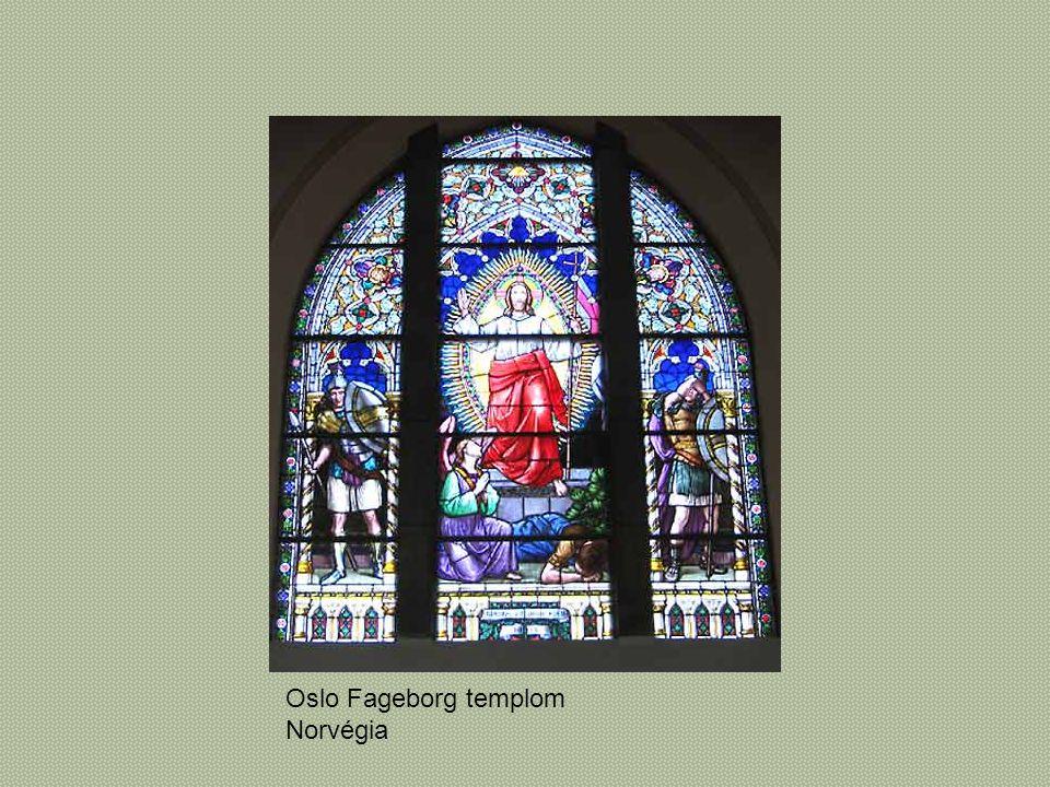 Oslo Fageborg templom Norvégia
