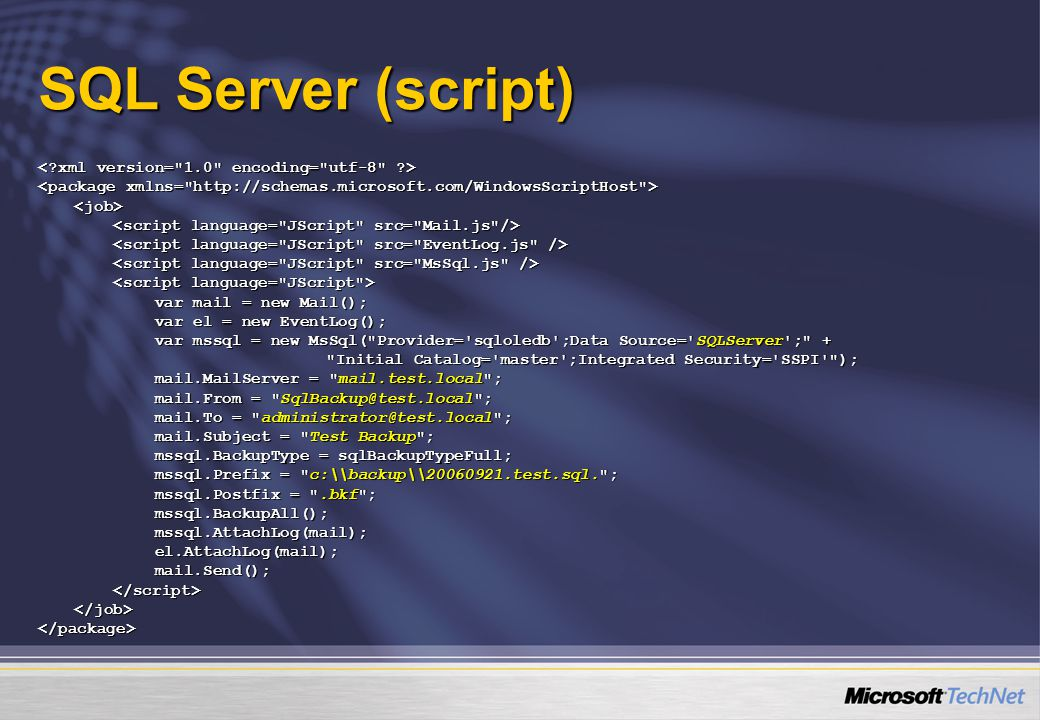 SQL Server (script) < xml version= 1.0 encoding= utf-8 >