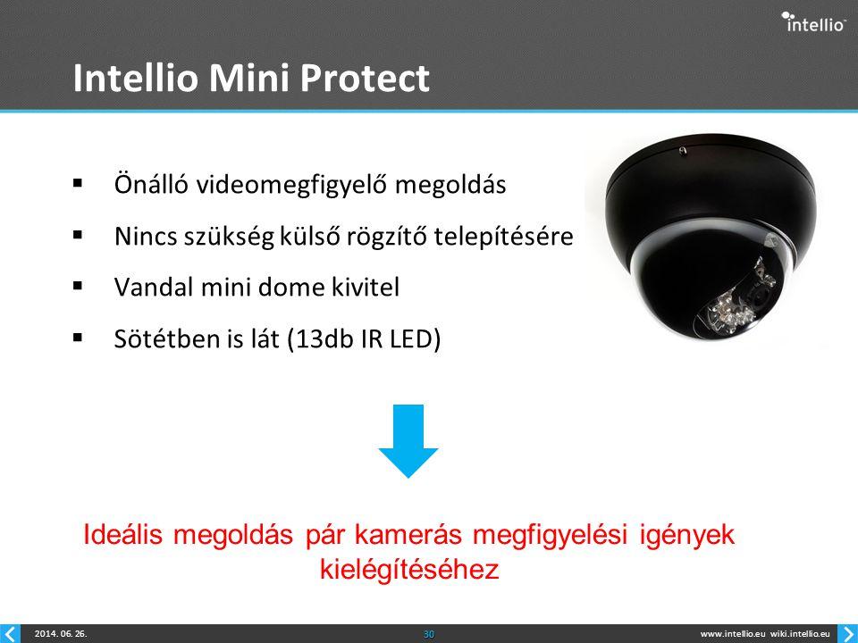 Ideális megoldás pár kamerás megfigyelési igények kielégítéséhez