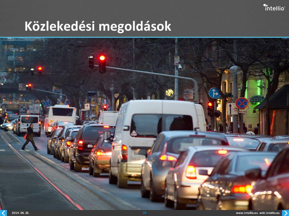 Közlekedési megoldások