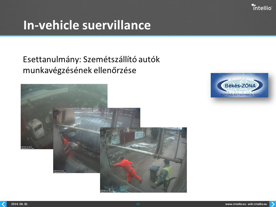 In-vehicle suervillance