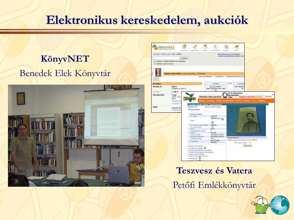 Elektronikus kereskedelem, aukciók