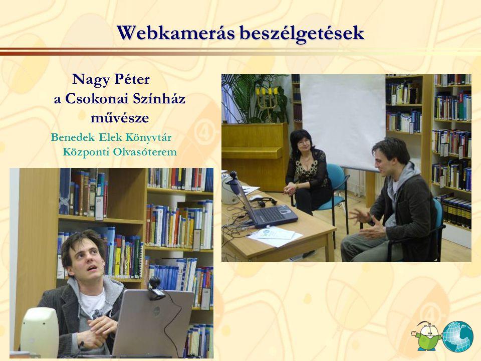 Webkamerás beszélgetések