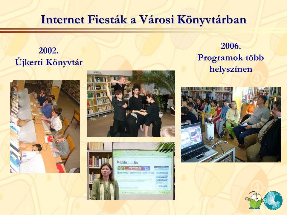 Internet Fiesták a Városi Könyvtárban