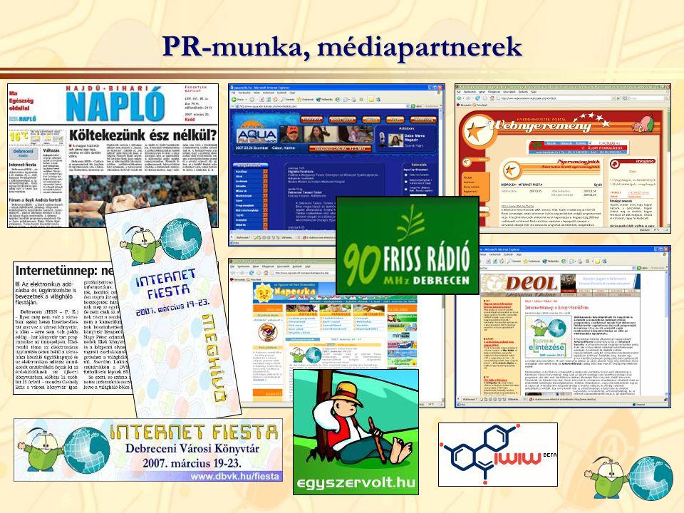 PR-munka, médiapartnerek