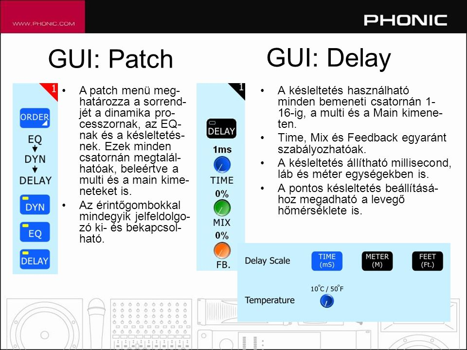 GUI: Patch GUI: Delay.