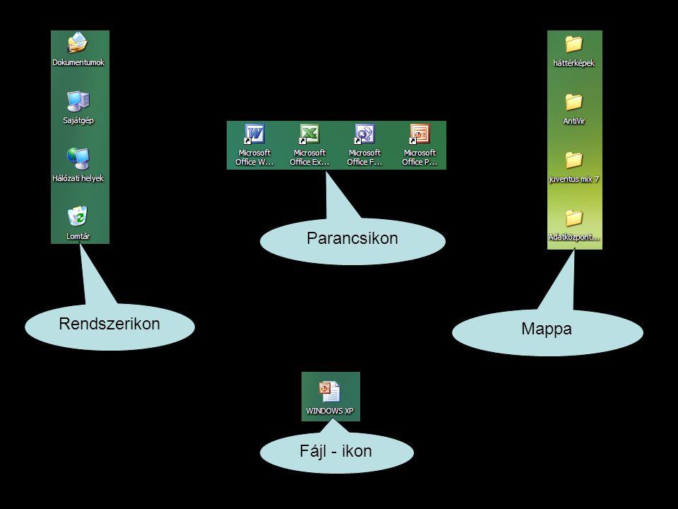 Parancsikon Rendszerikon Mappa Fájl - ikon