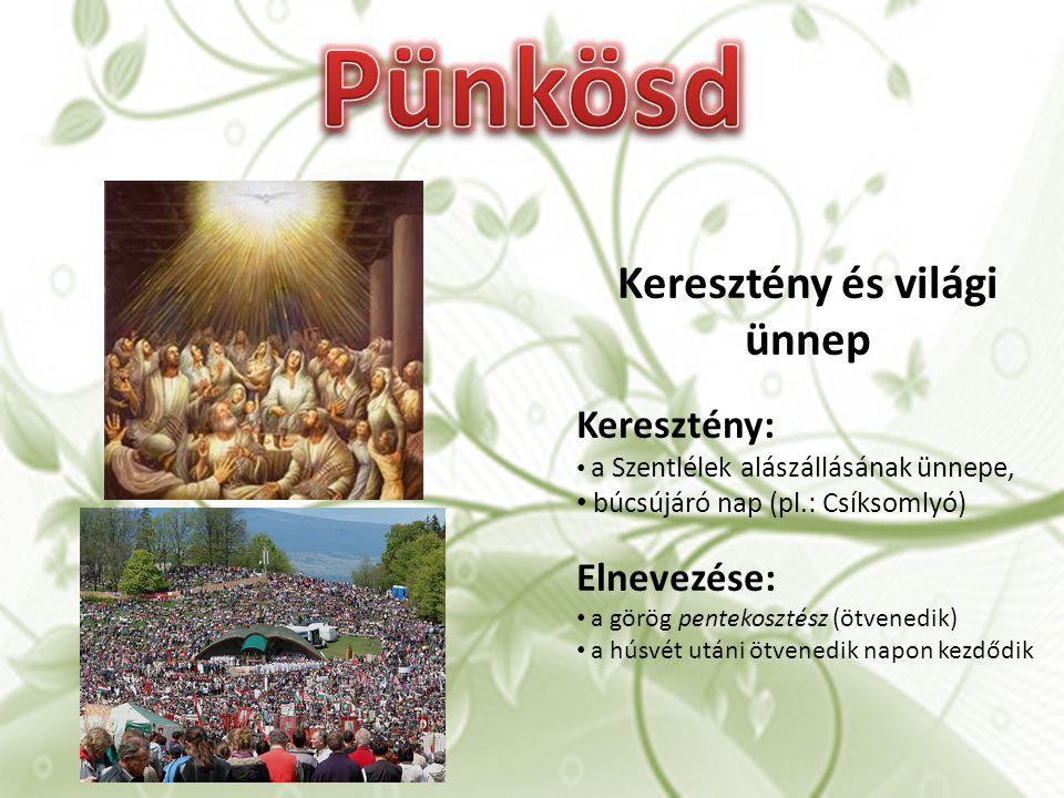 Keresztény és világi ünnep