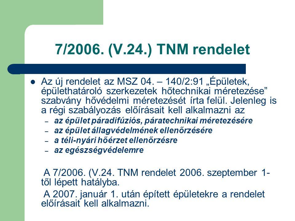 7/2006. (V.24.) TNM rendelet