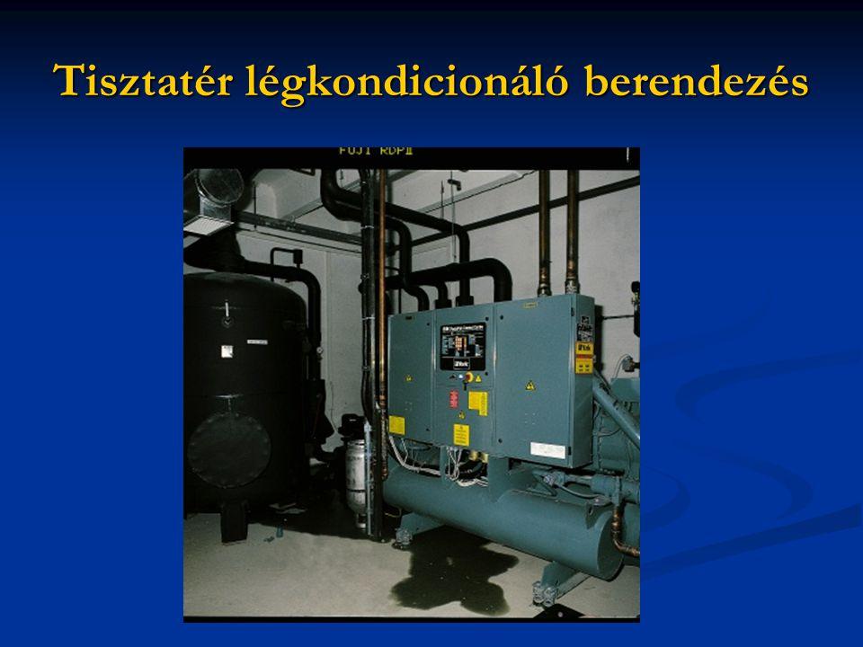 Tisztatér légkondicionáló berendezés